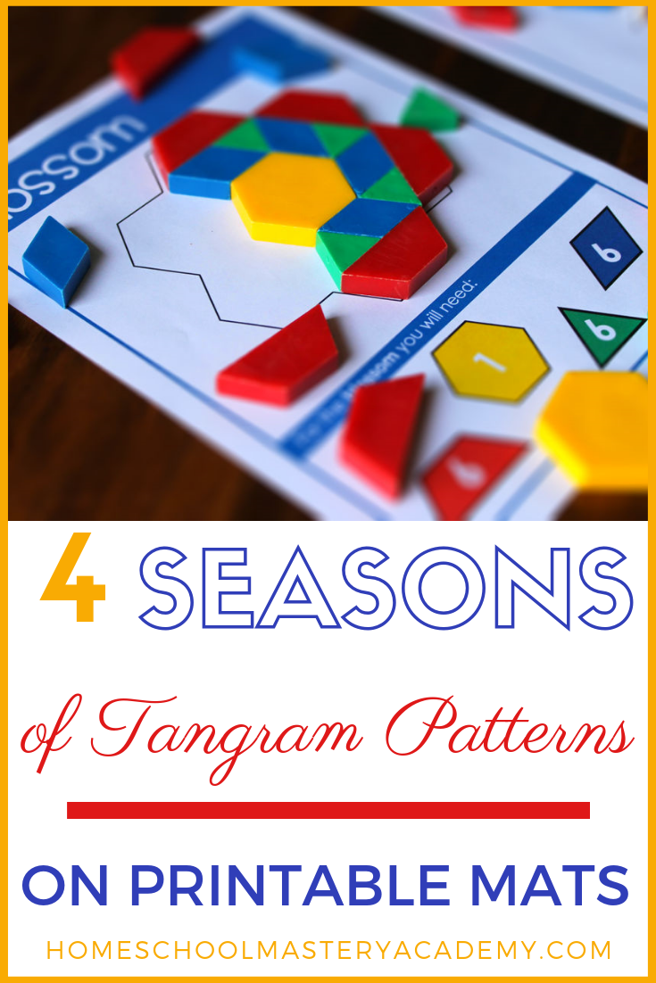 Ready to learn shapes in an engaging way? Tangrams are fun puzzles that all ages enjoy. From preschool to adult you can delight in putting together colorful shapes to create interesting and unique patterns.