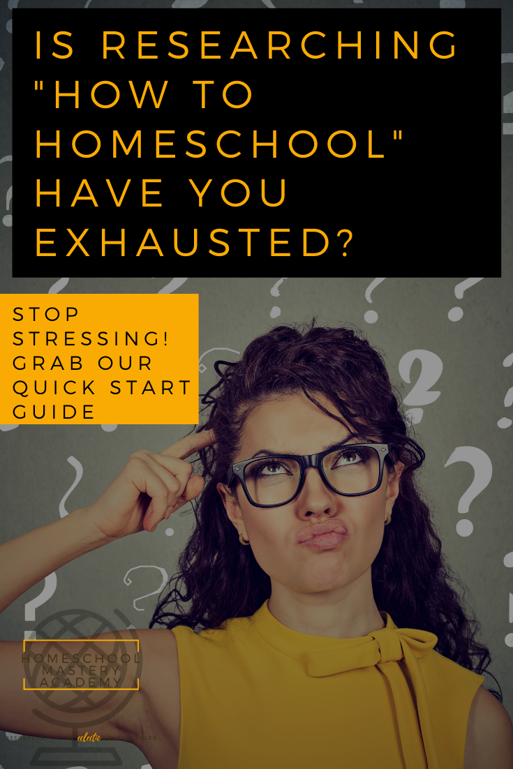 Homeschool Quick Start Guide