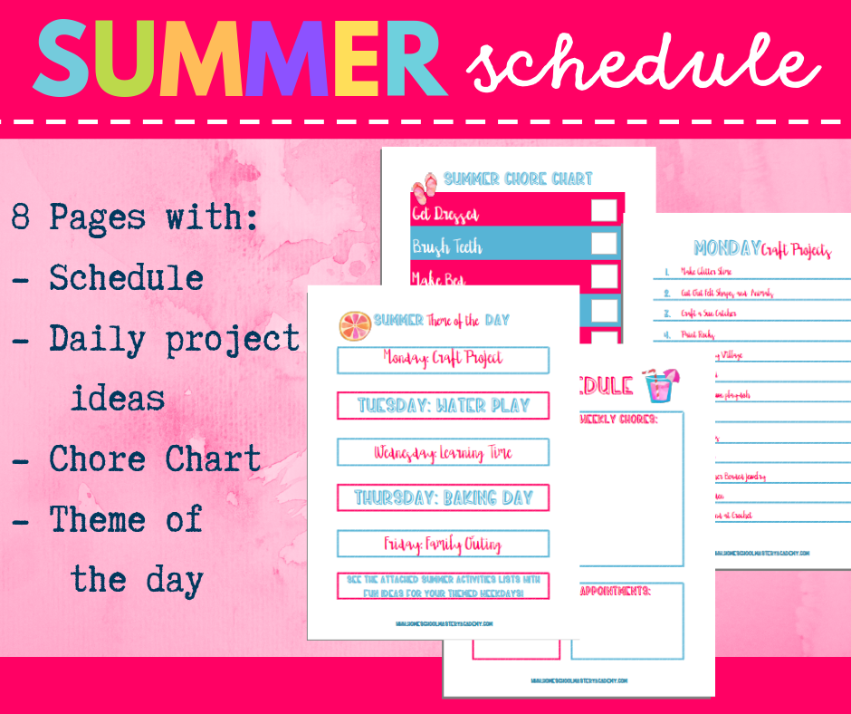summer plans for kids