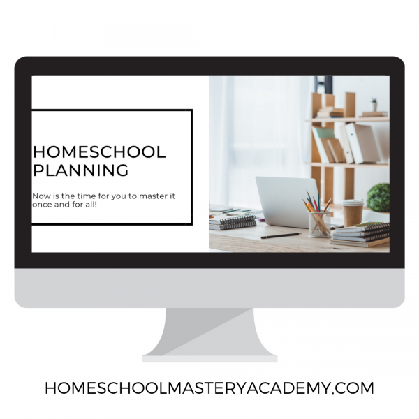 homeschool planning workshop