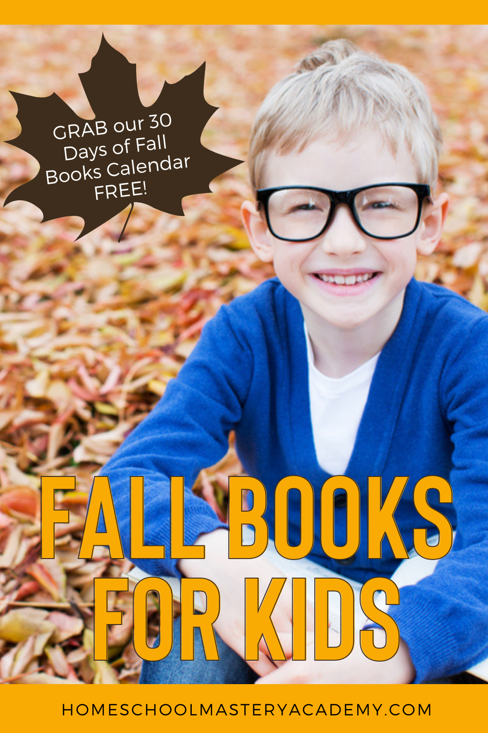 Here are a few ways that you can make fall books for kids come alive. Along with a FREE calendar of fall picture books for kids! #fallpicturebooks #fallbooksforkids #fallbooklist #booksforkids