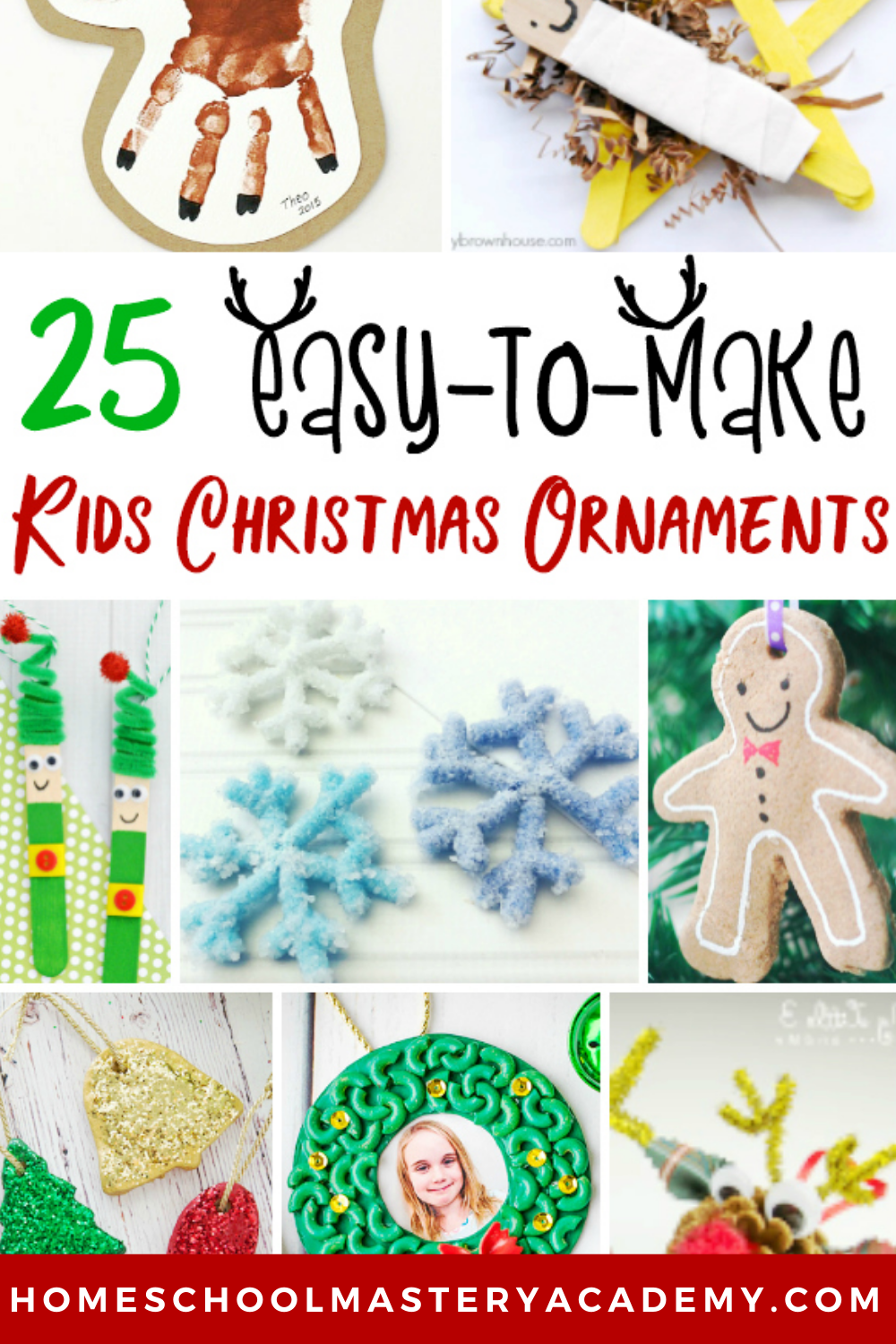 Easy-To-Make Ornaments For Children