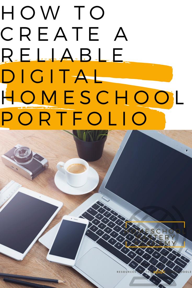 Digital Homeschool Portfolio