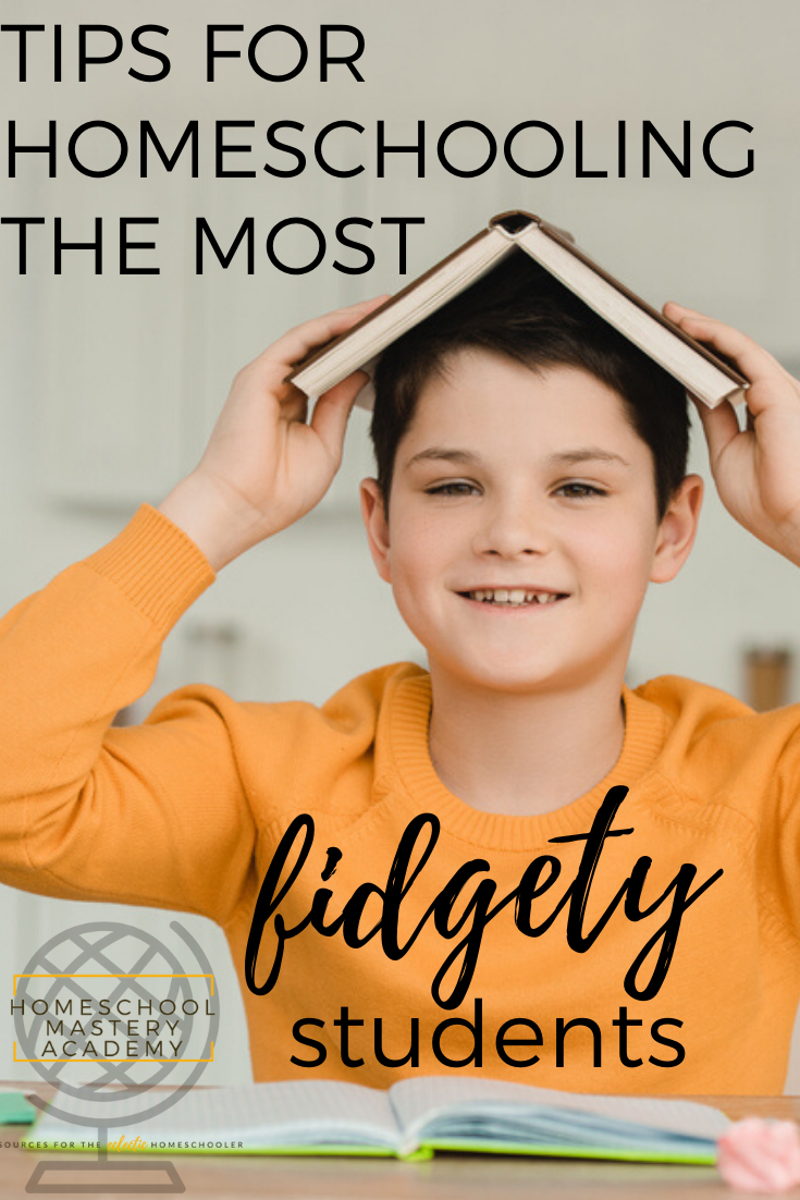 fidgety students