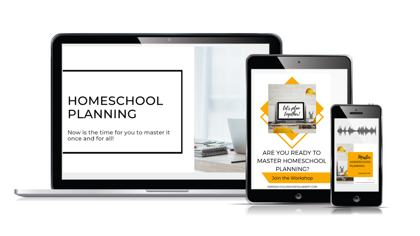 Master Homeschool Planning