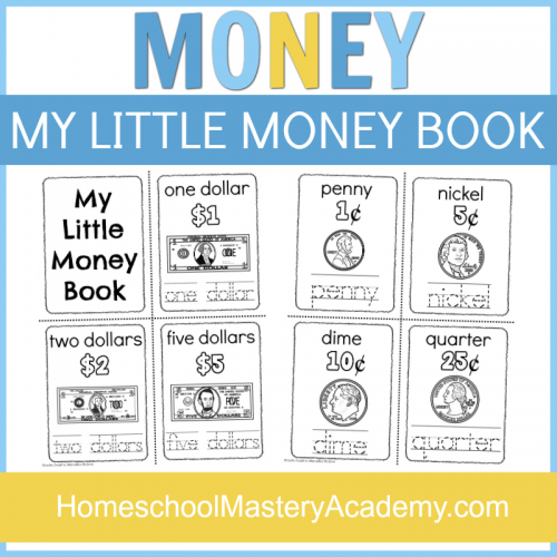 Money Printables for Preschool