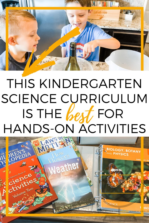 Kindergarten Science Curriculum