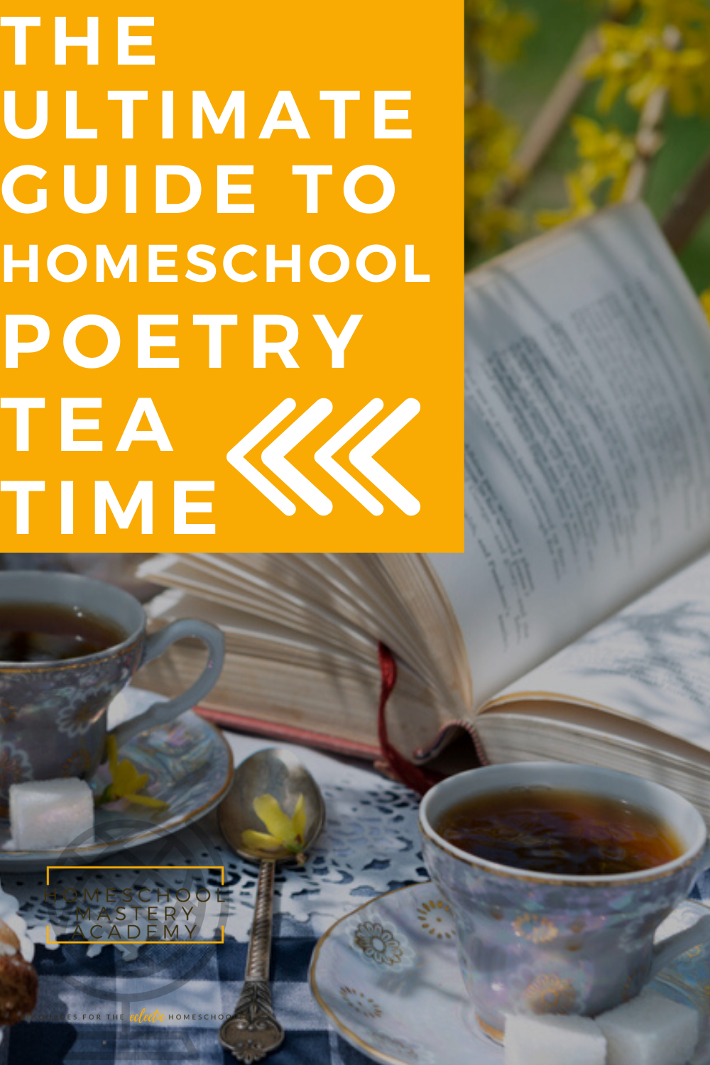 Poetry Tea Time