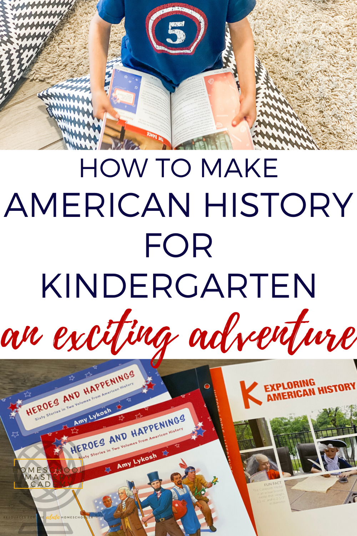 American History for Kindergarten