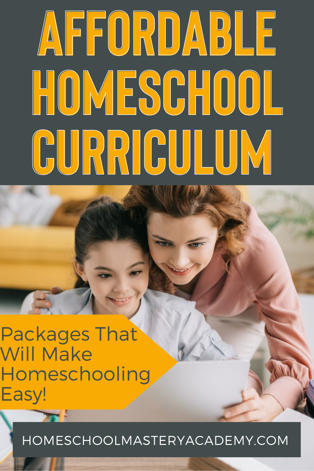 If you need to begin homeschooling now and feel overwhelmed, these affordable homeschool curriculum packages are a great place to start! #homeschool #homeschooling #onlinecurriculum #homeschoolcurriculum #onlinehomeschooling