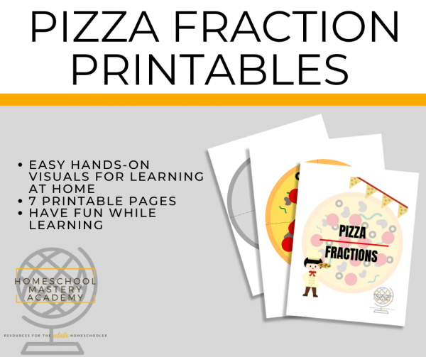 Pizza Fraction Printables