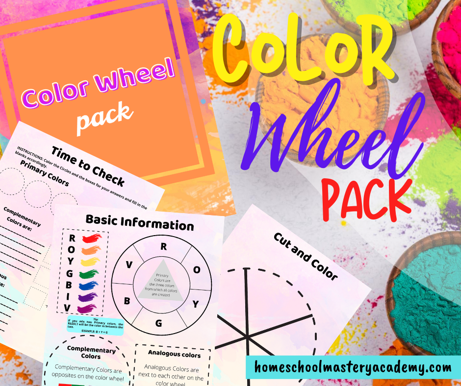 Color Wheel Activities Pack