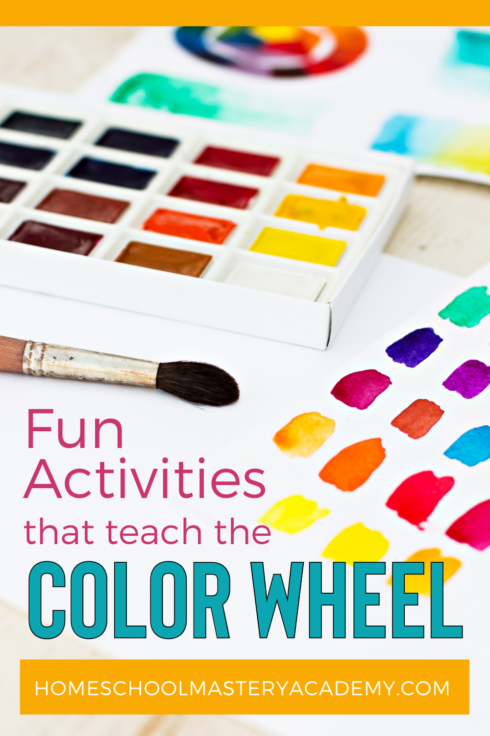 Teach Color Wheel