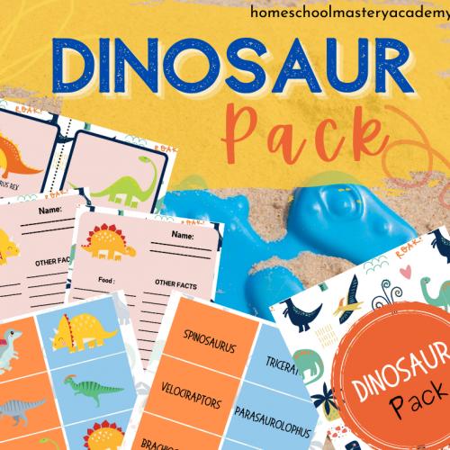 Dinosaur Elementary Pack