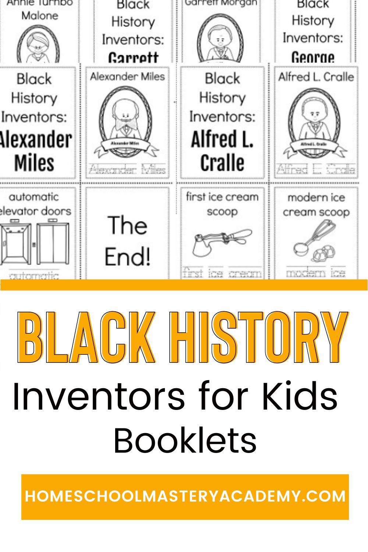 Black History Inventors for Kids