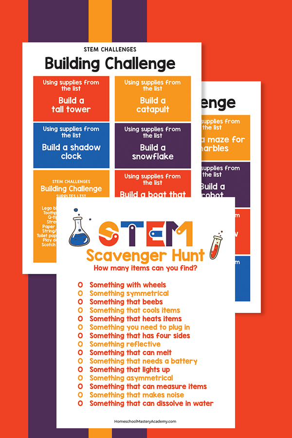 STEM Building Challenges