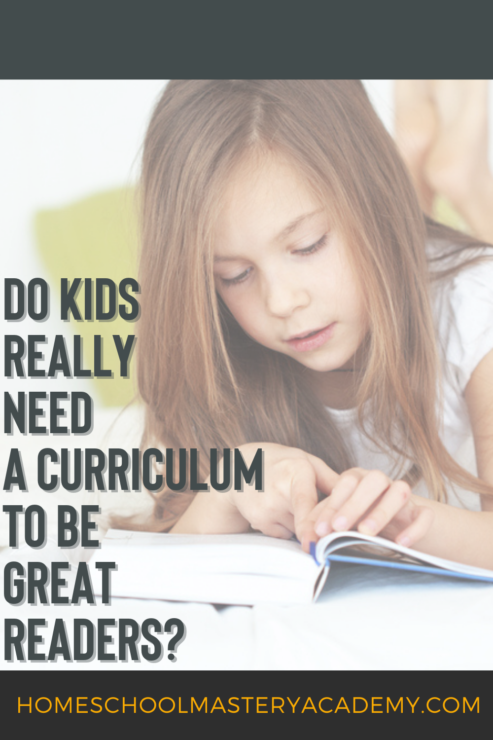 Homeschool Reading Curriculum