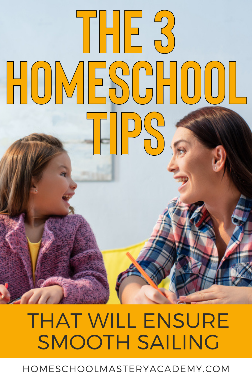 The 3 Homeschool Tips That Will Ensure Smooth Sailing #homeschool #homeschooltips #homeschoolhelp #homeschooling