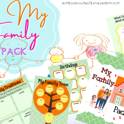 My Family Printable Pack