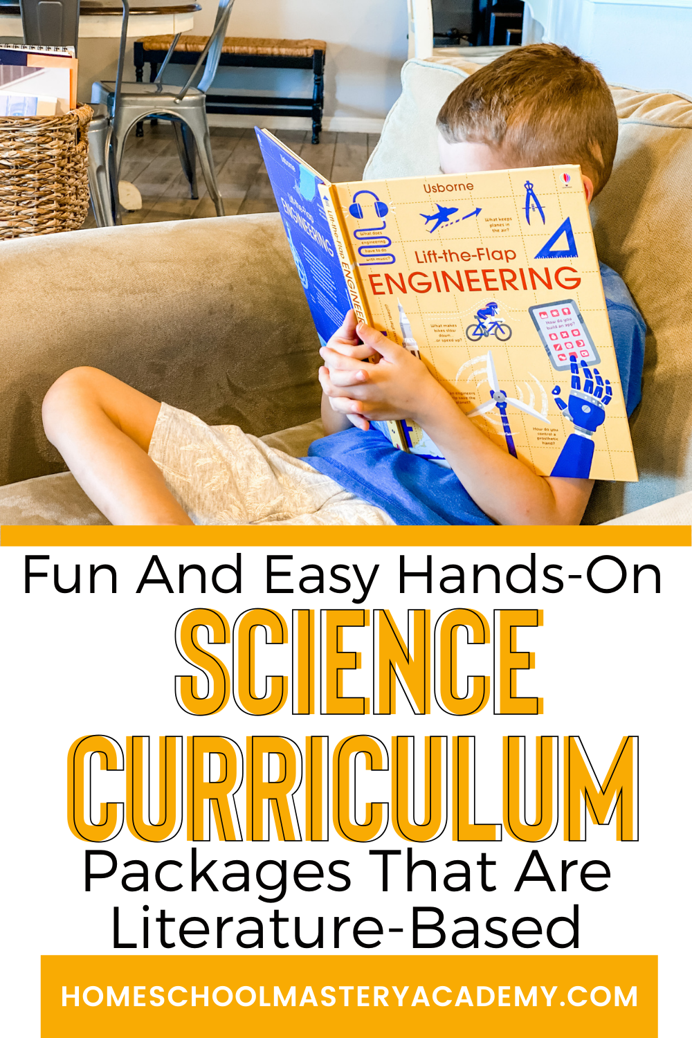 A Hands-On Science Curriculum does not have to equal more work for homeschool parents. Check out these easy and fun packages! #homeschoolscience #sciencecurriculum #handsonscience #sciencekits